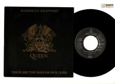 "QUEEN BOHEMIAN RHAPSODY / THESE ARE THE DAYS 7"" INCH VINYL SINGLE GERMANY RARE!"