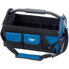 "DRAPER EXPERT FOLDING 24"" 610MM TOOL BOX CHEST BAG STORAGE TOTE BAG CADDY CASE"