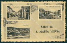 Pavia Santa Maria della Versa Saluti da cartolina QT0246