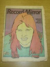 RECORD MIRROR 1978 MAR 25 WINGS LINDA MCCARTNEY ELO BONNIE TYLER BEACH BOYS