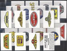 MISTER SOFTEE-FULL SET- KINGS OF THE ROAD (M24 CARDS) - EXC+++