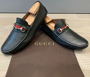 Gucci Men's Horsebit Loafers / Moccasins size 10 G = US 11 *Authentic*