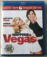 What Happens In Vegas: (Blu Ray + Digital Copy) LIKE NEW, FREE SHIPPING!!