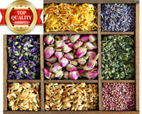Dried Flowers & Petals - Edible, Cooking, Tea, Confetti Decor, Craft Candle Soap