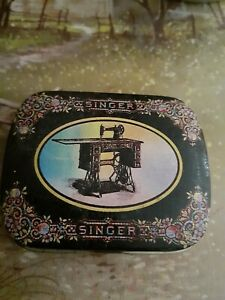 Singer tin
