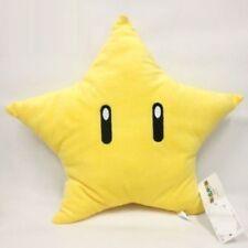 Super Mario Bros Yellow Starmen Star Stuffed Plush Pillow Toys Figure
