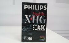 cassette vhs-c  Philips vergini 30 minuti confezione da 2 sigillata