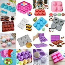 Silicone Handmade Soap Mould Ice Cube Cake Chocolate Pudding Mold Baking Tool