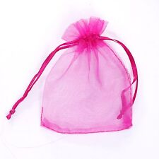 30/100pcs Organza Jewelry Packing Pouch Wedding Favor Gift Bags
