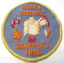 Serra District Trapper'S Trek Bsa Boy Scout Uniform Patch
