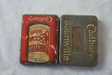 More details for vintage small pocket sized cadbury bourneville advertising tin - 2.5