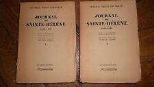Journal de Sainte - Hélène 1815 - 1818. sur chiffon ntéGOURGAUD Général Baron