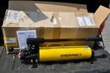 Enerpac P 84 Ultima Hydraulic Hand Pump Double Acting 5000 Psi 4 Way Valve New