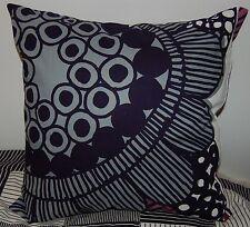 """Marimekko Siirtolapuutarha pillow cushion case, 18"""", 45cm, Finland gray purple"""