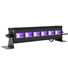 UV Schwarzlicht LED 18W Bühnenlichtleiste für Party Disco Geburtstag Dekoration