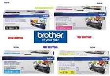 4-Pack GENUINE BROTHER OEM TN336BK TN331C TN331Y TN331M TONER SET - SEALED*