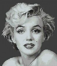 Marilyn Monroe(G) Counted Cross Stitch Kit Movie Star/Actress/People