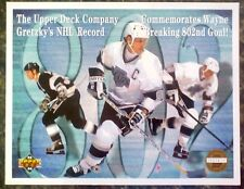 WAYNE GRETZKY 1993-1994 Upper Deck 8.5x11 Commemorative Serial Numbered /25,000