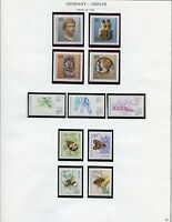 GERMANY BERLIN  SELECTION OF MOSTLY 1984  MINT NEVER HINGED AS SHOWN