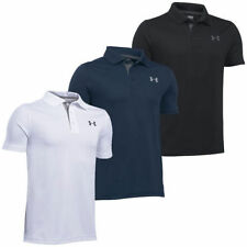 Boys' No Pattern Collared Short Sleeve Sleeve T-Shirts, Tops & Shirts (2-16 Years)