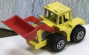 Matchbox Lesney Superfast No. 29 Tractor Shovel NM no Box superb yellow/red