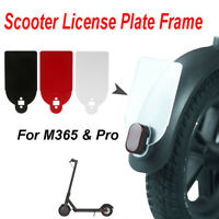 Rear Tail License Plate Fender Number Plate Holder For Xiaomi M365 ScooterATDD