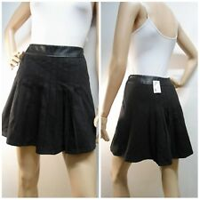 new & tags DOTTI size 10 rrp $59.95 pleated skater SKIRT with leatherette waist