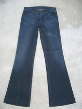 GoldSign Womens Elan Jeans Classic Rise Flare Super Soft Sz 28   MSRP $220