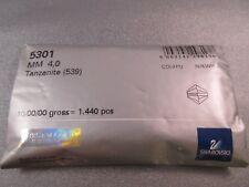 Swarovski Bicone 4mm Tanzanite(539) Factory Package 1440 pcs