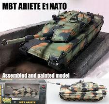 Italian MBT C1 Ariete E1 NATO camouflage tank 1:72 no diecast Easy Model