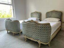 More details for pair of french corbeille beds (2 x single)