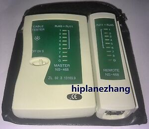 Phone PC Multifunctional LAN Network Cable Wire RJ11 RJ45 Cat5 Tester Meter