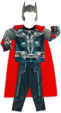 NEW SZ 2-12 KIDS COSTUMES THOR BOYS MASK DRESS UP PARTY CHILDREN SUPERHERO