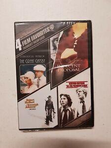 DVD Great Gatsby Indecent Proposal Jeremiah Johnson All President's Men Region 1