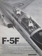 3-8/1976 PUB NORTHROP F-5F USAF AIR FORCE FIGHTER TRAINER ORIGINAL AD