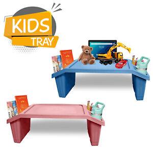 Kids Portable Lap Plastic Table Tray Multipurpose Study Activity Floor Work Desk
