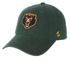BAYLOR BEARS GREEN NCAA ADJUSTABLE STRAPBACK SCHOLARSHIP DAD CAP HAT NWT! ZEPHYR