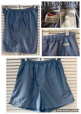Nike Womens Vintage Lightweight Blue Running Shorts Size Medium 8-10 Dri Fit
