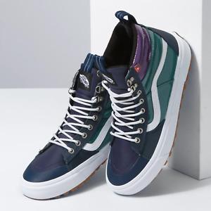 Vans Sk8-Hi Mte 2.0 DX Water Resistant Sneaker Boot Men Sz 10 Blue Green Purple