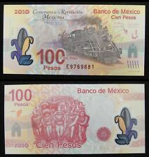Mexico Polymer Banknote 100 Pesos 2007 (2010) UNC