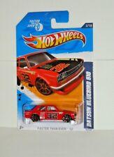 2012 HOT WHEELS FASTER THAN EVER '12 #092- Datsun Bluebird 510 - Red Variant