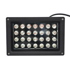 1x 28x3w 80w IR 940nm Bridgelux Led Flood light Lamp Waterproof IP67 Black shell