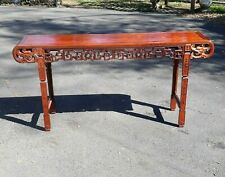 Old or Antique Large Chinese Hardwood Altar Table