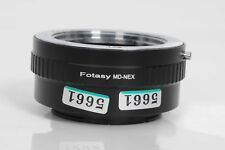Fotasy Minolta MD Mount to Sony E Mount MD-NEX Lens Adapter                 #661
