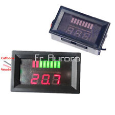 12V Lead Acid Battery Indicator Battery Capacity Digital LED Tester Voltmeter