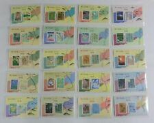 C1156-75 D, Oku no Hosomichi Series 20 Sheets Set, Haiku, Mini Sheet Japan Stamp