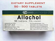 Allohol Allochol - natural choleretic herbal dietary supplement 50- 500 tablets