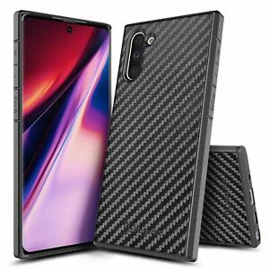 For Samsung Galaxy Note10 / Note10 Plus Case Carbon Fiber Soft TPU Phone Cover