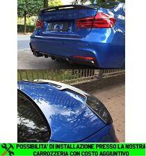 BMW SERIE 3 F30 BERLINA SPOILER POSTERIORE COFANO M SPORTIVO ABS 0024