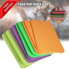 6mm Yoga Esterilla Almohadilla para la rodilla libre de dolor Cojín Codo Protector Para Entrenamiento Piso Pilatos